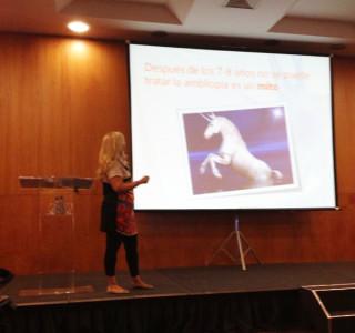 Pilar Vergara en el 8º Congreso Internacional de Optometría Comportamental
